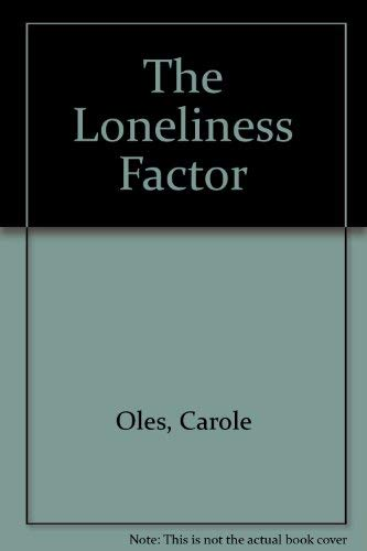 9780896720725: The Loneliness Factor