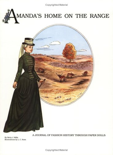 9780896721227: Amanda's Home on the Range: A Journal of Fashion History through Paper Dolls (Amanda Series)