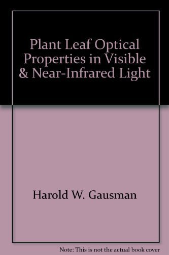 9780896721319: Plant Leaf Optical Properties in Visible and Near-Infrared Light (Graduate Studies)
