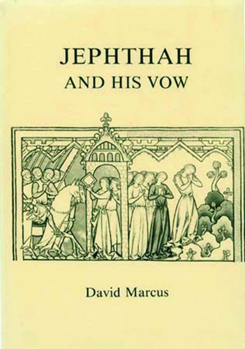 9780896721357: Jephthah and His Vow