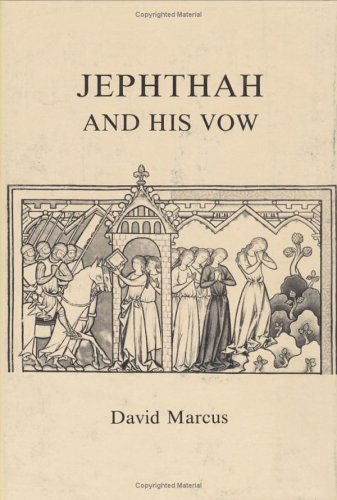 9780896721364: Jephthah and His Vow