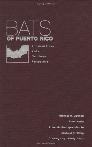 9780896725430: Bats of Puerto Rico: An Island Focus and a Caribbean Perspective