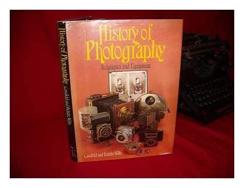 9780896730403: History of photography: Techniques and equipment