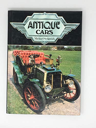 Antique Cars: Sedgewick, Michael