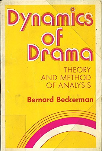 9780896760196: Dynamics of drama: Theory and method of analysis