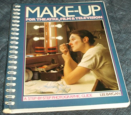 9780896760936: Makeup for Theatre, Film & Television: A Step-By-Step Photographic Guide
