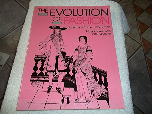 9780896760998: Evolution of Fashion: Pattern and Cut from 1066 to 1930: Pattern and Cut, 1066-1930