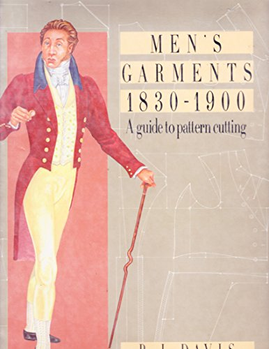 9780896761087: Men's Garments 1830-1900: A Guide to Pattern Cutting