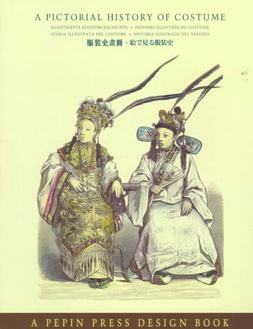 9780896762275: A Pictorial History of Costume (English and Multilingual Edition)