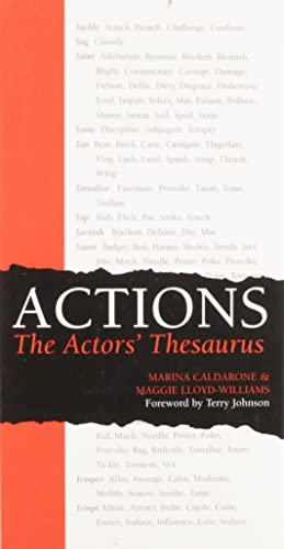 9780896762527: Actions: The Actors' Thesaurus