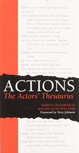 Actions the Actors' Thesaurus