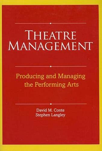 9780896762565: Theatre Management and Production in America: Producing and Managing the Performing Arts