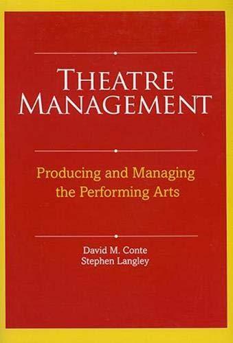 9780896762565: Theatre Management