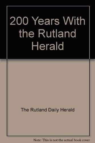 9780896770034: 200 Years With the Rutland Herald