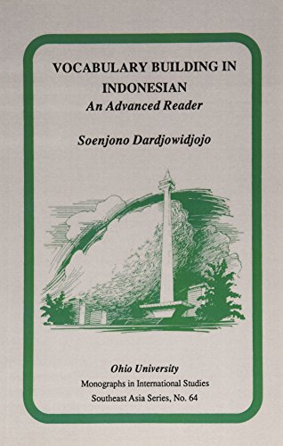 9780896801189: Vocabulary Building in Indonesian: An Advanced Reader (Ohio RIS Southeast Asia Series)