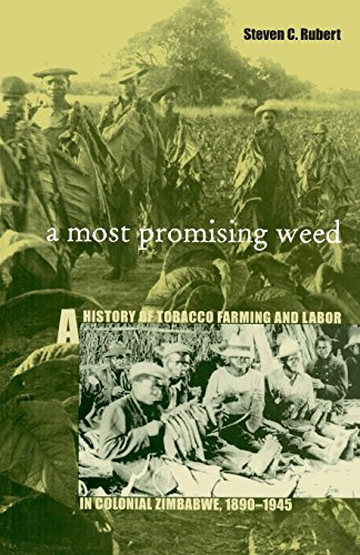 9780896802032: A Most Promising Weed: A History of Tobacco Farming and Labor in Colonial Zimbabwe, 1890–1945 (Ohio RIS Africa Series)