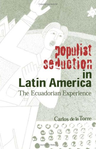 9780896802100: Populist Seduction in Latin America: The Ecuadorian Experience (Ohio RIS Latin America Series)