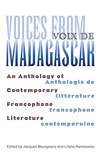 9780896802186: Voices From Madagascar: An Anthology of Contemporary Francophone Literature (Ohio RIS Africa Series)