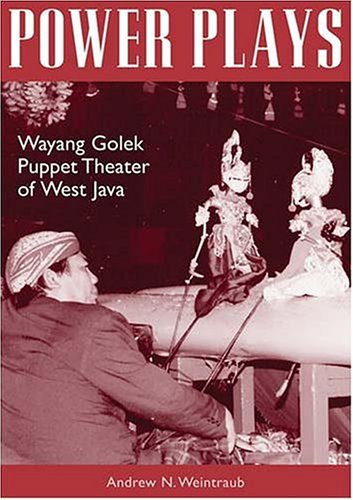 9780896802407: Power Plays: Wayang Golek Puppet Theater Of West Java