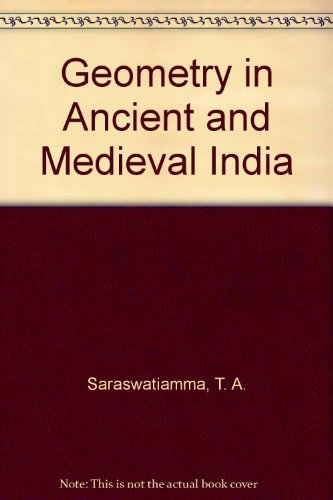 9780896840201: Geometry in Ancient and Medieval India