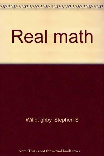 9780896885134: Real math
