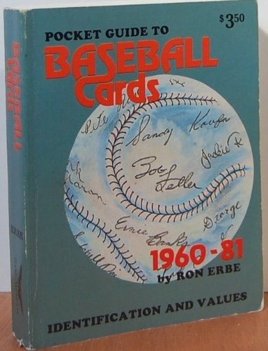9780896890329: Pocket Guide To Baseball Cards: Identification And Values, 1960-81