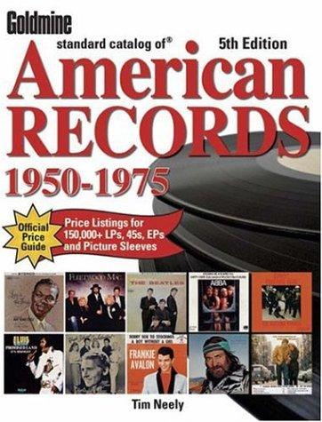 9780896893078: Goldmine Standard Catalog of American Records: 1950-1975