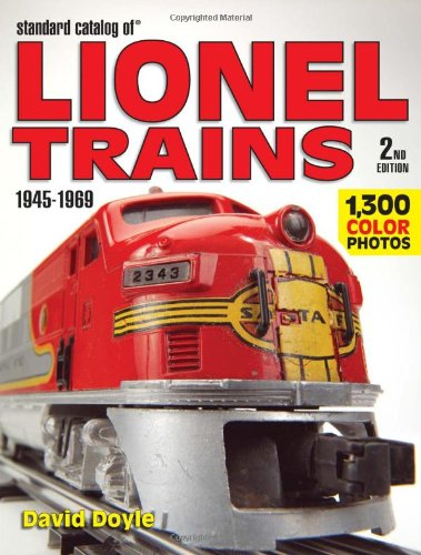 9780896893788: Standard Catalog of Lionel Trains 1945-1969