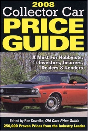 Classic Car Price Guide >> 2008 Collector Car Price Guide