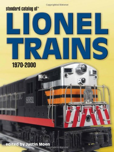 9780896895775: Standard Catalog Of Lionel Trains, 1970-2000