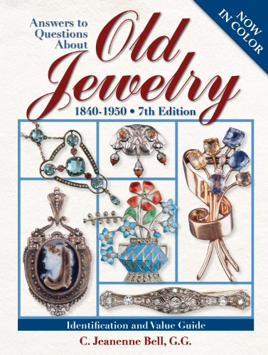 9780896896956: Answers to Questions about Old Jewelry: 1840-1950