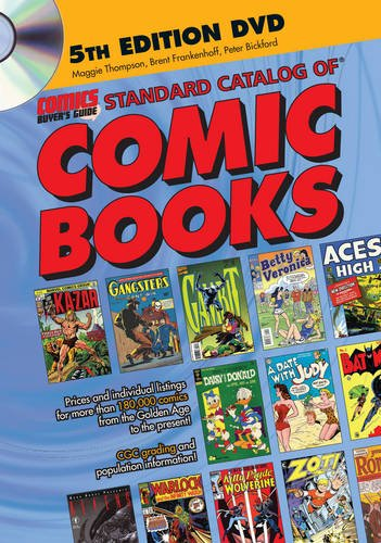 Standard Catalog of Comic Books DVD: Frankenhoff, Brent, KP Staff