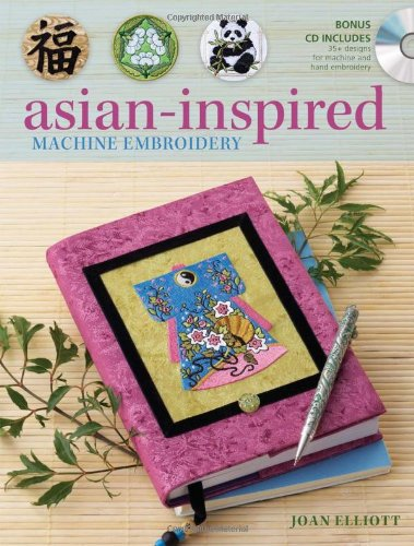 9780896899544: Asian-Inspired Machine Embroidery