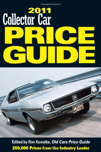 Classic Car Price Guide >> 2010 Collector Car Price Guide