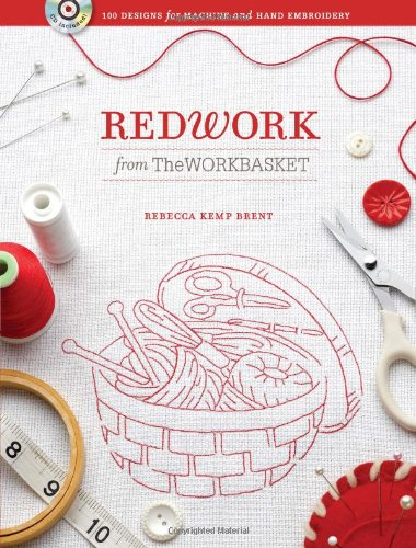 9780896899728: Redwork from the Workbasket: 100 Designs for Machine and Hand Embroidery