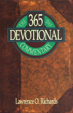 The 365 Day Devotional Commentary (Home Bible Study Library): Richards, Lawrence O.