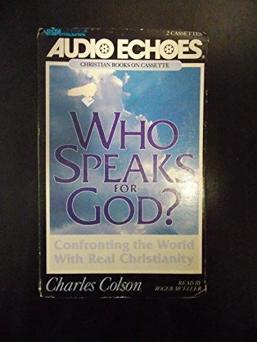 9780896935594: Who Speaks for God