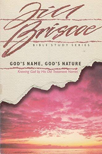 God's Name God's Nature: Briscoe, Jill