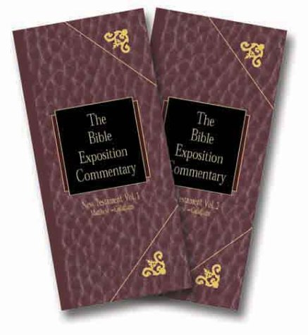 9780896936591: Bible Exposition Commentary Set (Volumes 1 & 2)