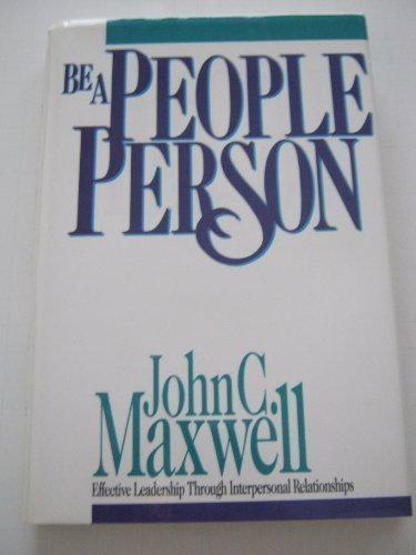 9780896937154: Be a People Person