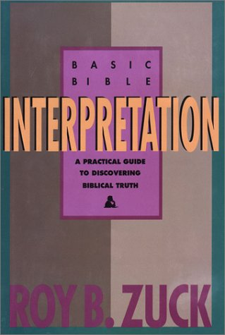 9780896938199: Basic Bible Interpretation