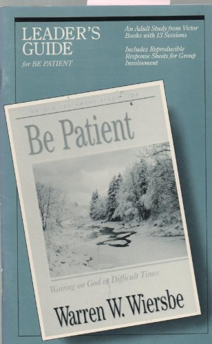9780896938977: Be Patient Leaders Guide