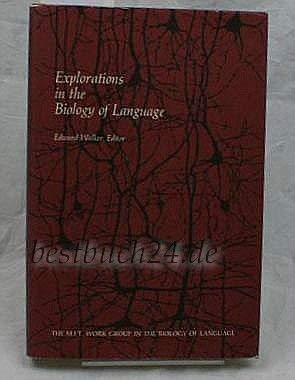 Explorations in the Biology of Language: Walker, Edward, edited