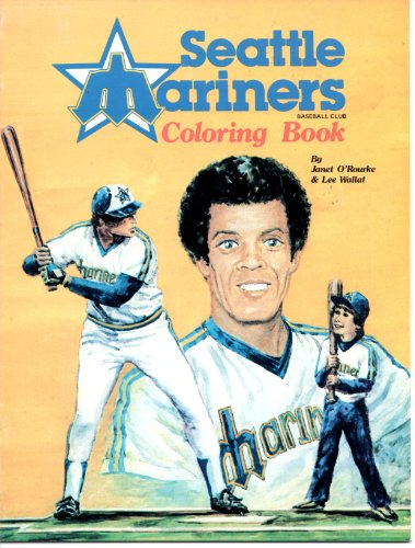 9780897160933: Seattle Mariner Coloring Book