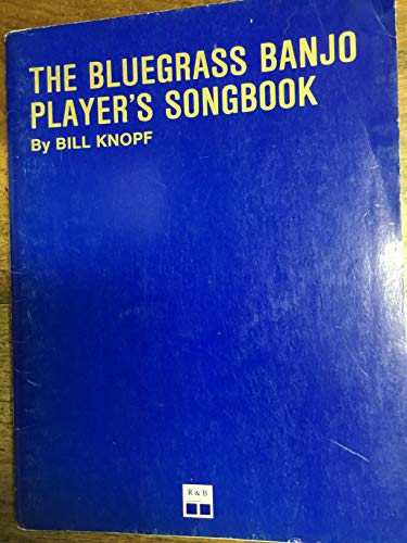 9780897170048: Bluegrass Banjo Player's Songbook