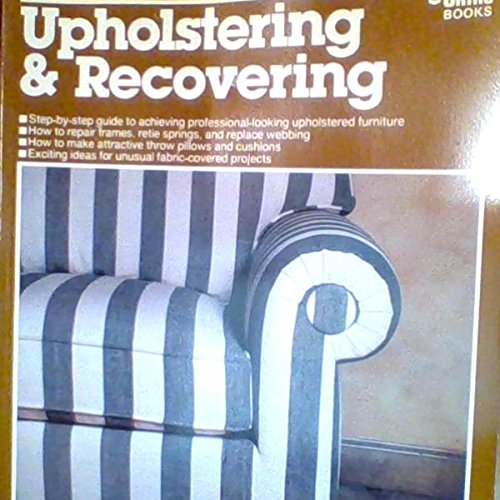 Upholstering and Recovering: Jeanette Hall