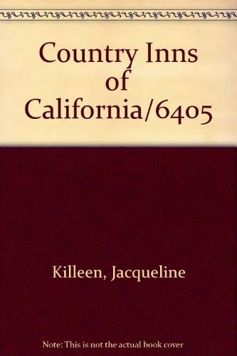 Country Inns of California: Jacqueline Killeen