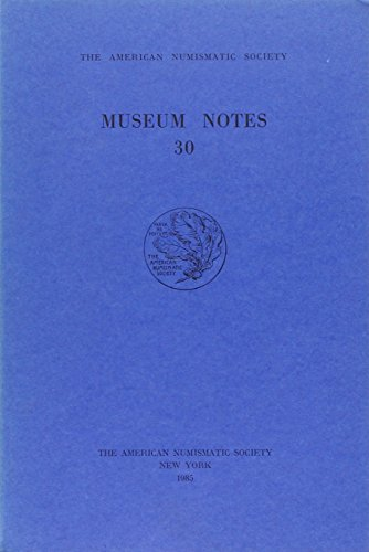 9780897222082: Museum Notes 30