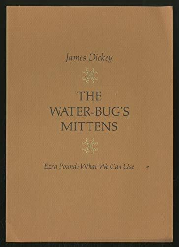 9780897230216: The Water-Bug's Mittens - Ezra Pound: What We Can Use