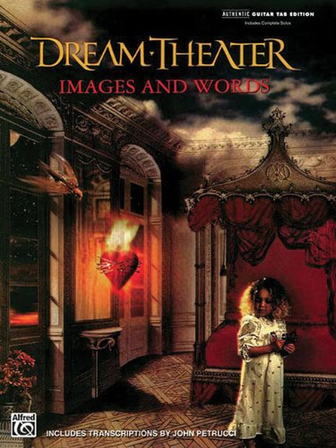 9780897240307: Dream Theater - Images and Words (Authentic Guitar-Tab)